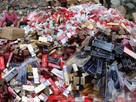 河南许昌焚烧假烟发电 共转换约5万度电,让我们一起算算烧了多少根烟