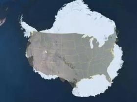 美国到底有多大
