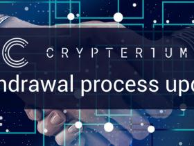 CRPT(Crypterium)币Token提现状况的更新