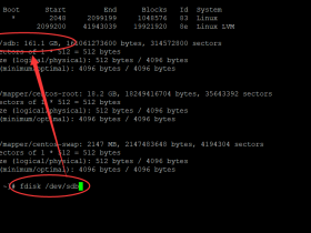 CentOS主机挂载硬盘教程