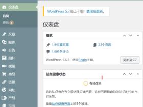 Wordpress5.7更新已经一个月,可我后台还是没办法自动更新